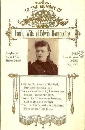 lanie memorial card 1