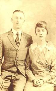 percy and esther wedding photo