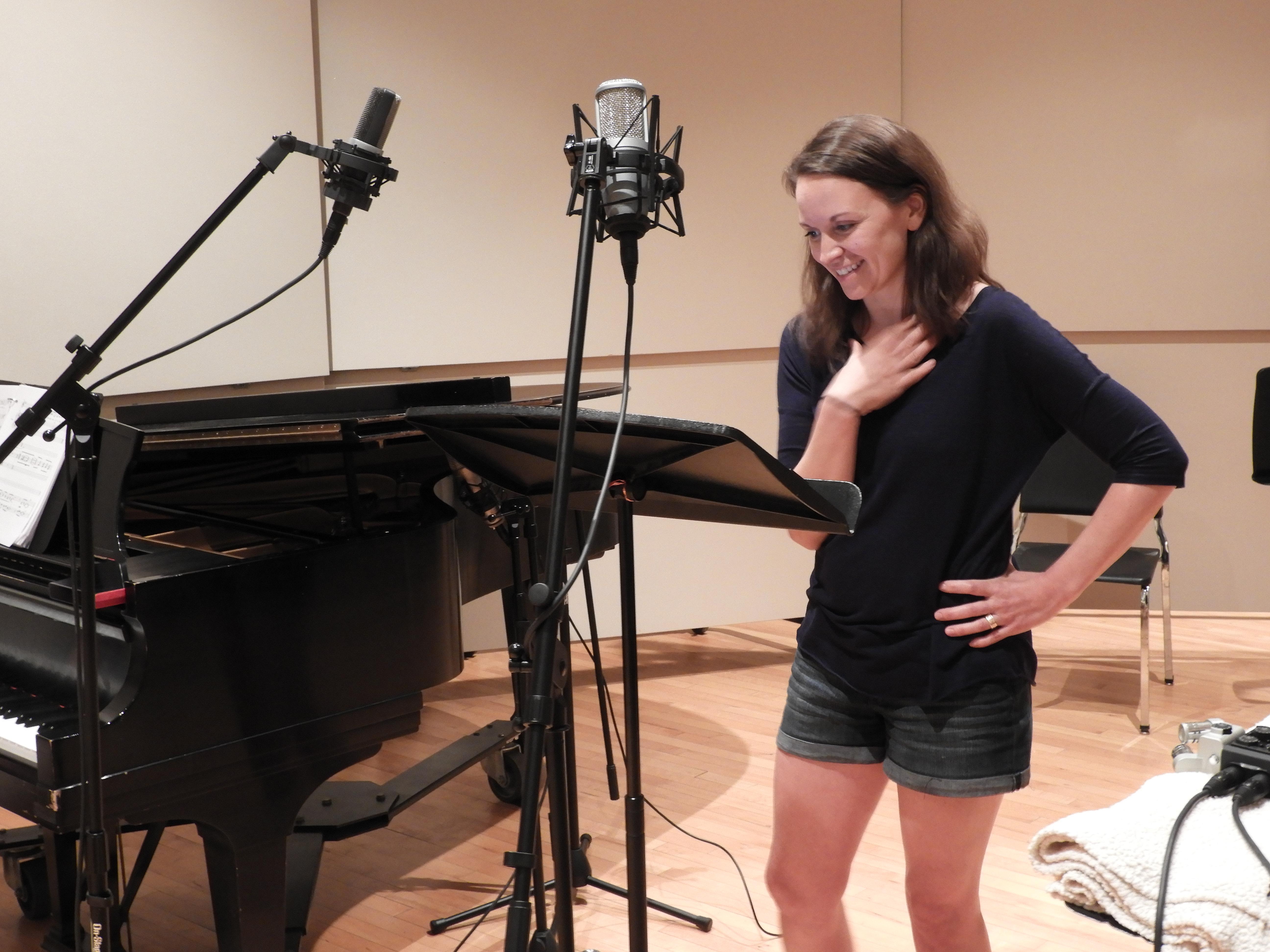 Kira recording session 046