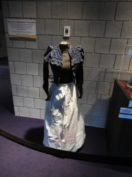 Lanie's dress. It was actually too small for the mannequin! She was one teeny-tiny lady.