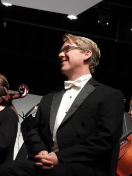 I am always so honored to have Daniel Belcher perform with us. He is a great talent, and always so approachable for our students.
